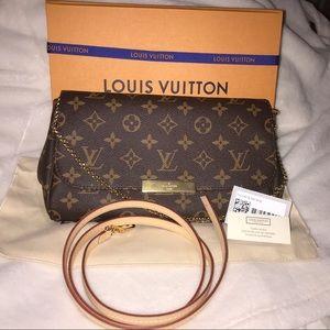 NEW Authentic Louis Vuitton Monogram Favorite MM